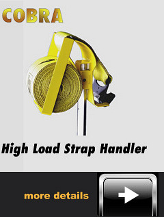 Truck Driver New Rolling Strap Handling Device Hect Or Oll